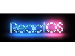 ReaсtOS, имитация неонового освещения