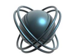 Атом с орбитами