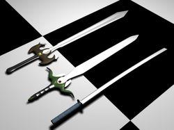 Фантазийные мечи