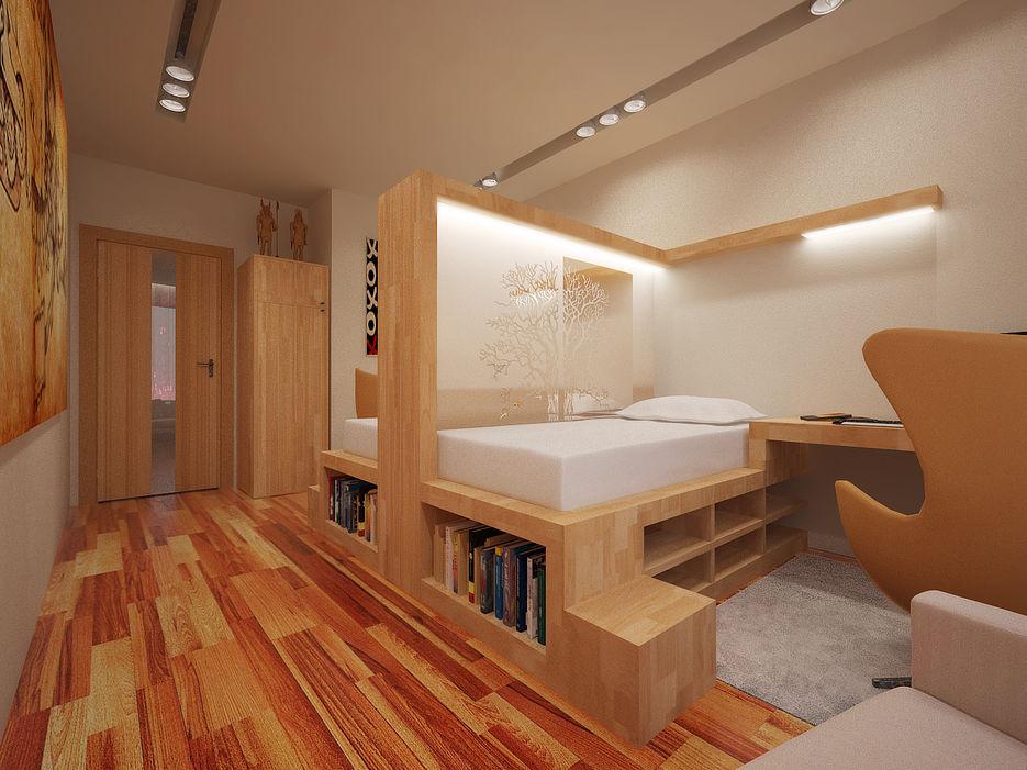 Идеи как сделать из одной комнаты две