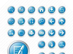 Иконки кнопки