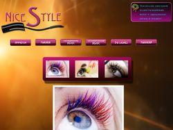 Сайт стилиста-имиджмейкера