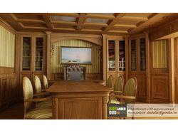 Разработка и визуализация интерьера кабинета
