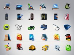 "Иконки для интернет магазина ""ROZETKA"""