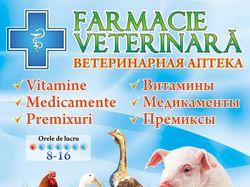 Баннер для ветеринарной аптеки