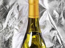 Рекламное фото. Вино Chardonnay
