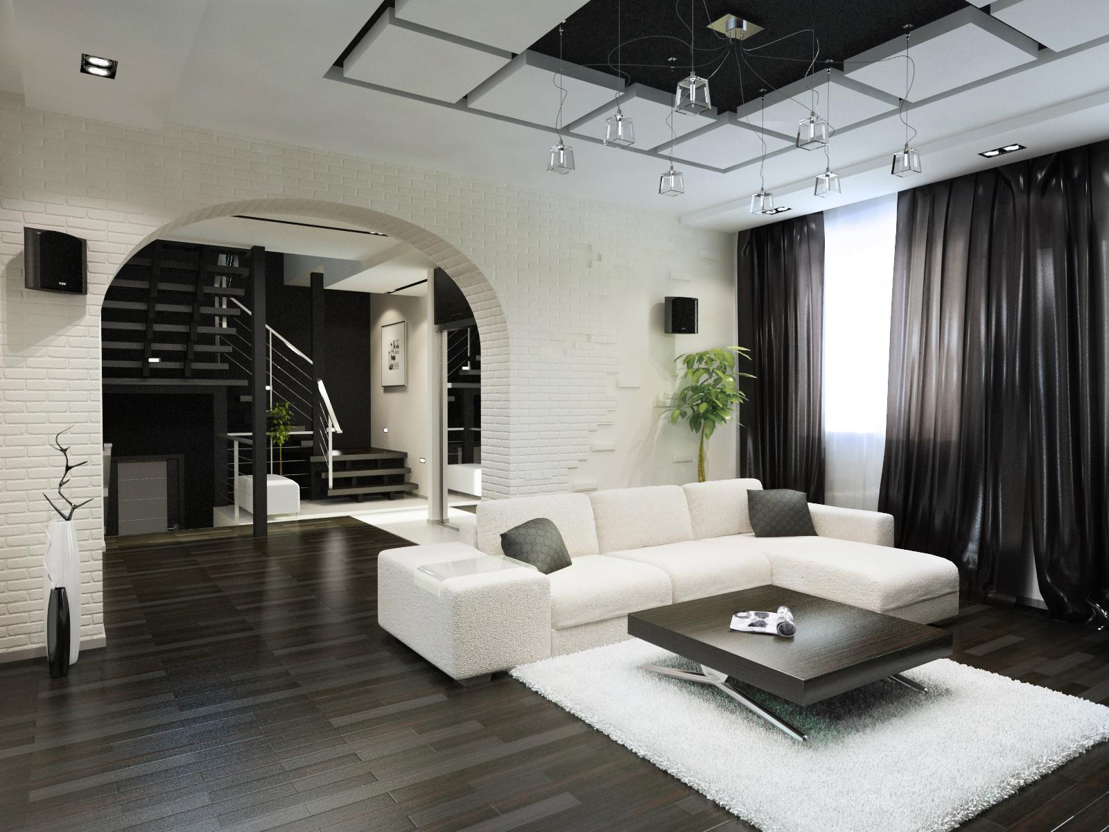 Дизайн интерьера жилой квартиры