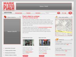 Дизайн сайта для mark-plaza