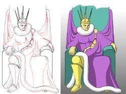 Экстравагантный король