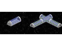 Элементы строений для космической онлайн игры