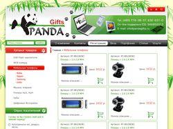 Сайт по продаже сувенирных флеш накопителей