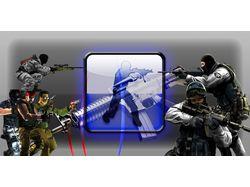 Работа по Counter-Strike