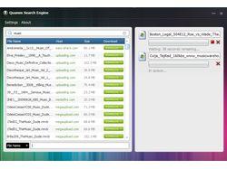 Программа поиска-закачки файлов на файлообменниках