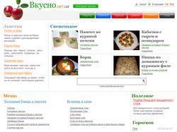 Вкусные кулинарные рецепты на Вкусно.net.ua