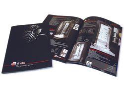 Дизайн каталога для магазина сантехники