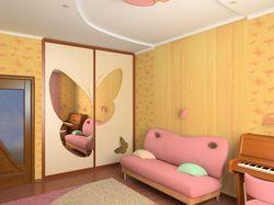 Вид детской комнаты