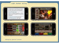 Игра Light Runner Galaxy