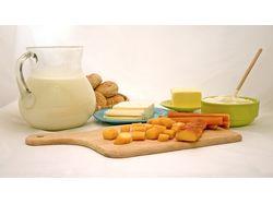 Фотосессия сыров и молочной продукции