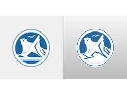 Отрисовка растра в вектор (логотип)
