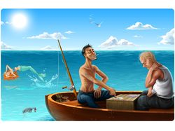 Рыбаки-тупицы