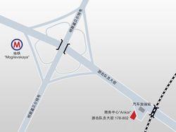 Карта проезда в векторе