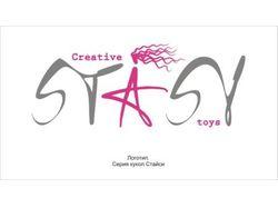 "Логотип для серии кукол ""Stasy"""