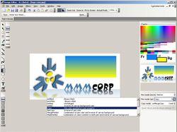 Растровой графической редактор
