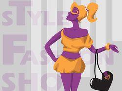 Иллюстрация для женского журнала