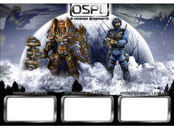 Фирменный стиль международного чемпионата OSPL