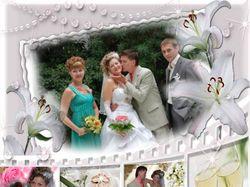 Свадебная фотография. коллаж