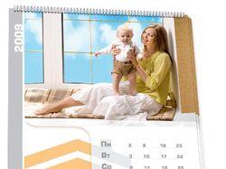 """Перекидной календарь, окна """"Корса"""""""