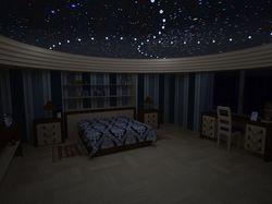 Спальня со звездным небом
