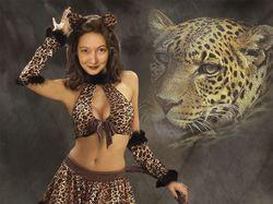 Марго - Тигрица - До и после