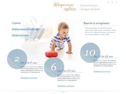 Верстка и интеграция в Joomla для zybki.com.ua
