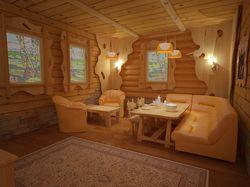 Комната отдыха при бане