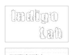 """Визитная карточка дизайн-студии """"Indigo Lab"""""""