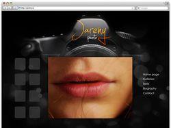 Сайт Фотографа Jareny