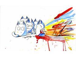 Кошачья война с УГ