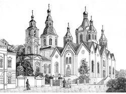 Арзамас подворье Серафимо-Дивеевского монастыря