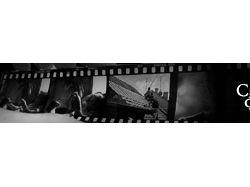 Баннер сайту на тему фильмов