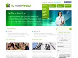NJ MetroMedical website