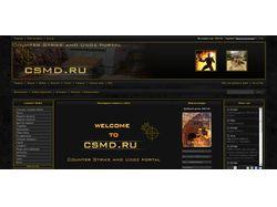 Дизайн сайта http://csmd.ru