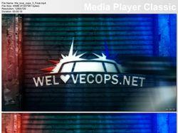 We love cops