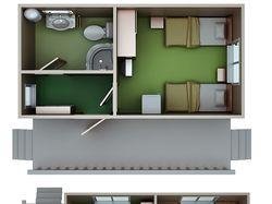 Планировка домиков для сайта