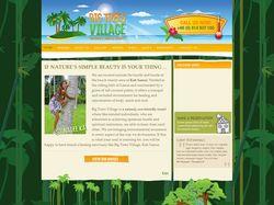 Big Trees Village Website