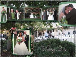 Коллаж. Свадьба в Сакраменто