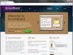 Scrum-board