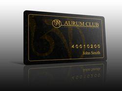 Aurum - пластиковая карта