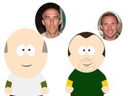 В стиле South Park
