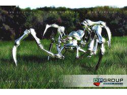 3д модель робота для  игры (паук)